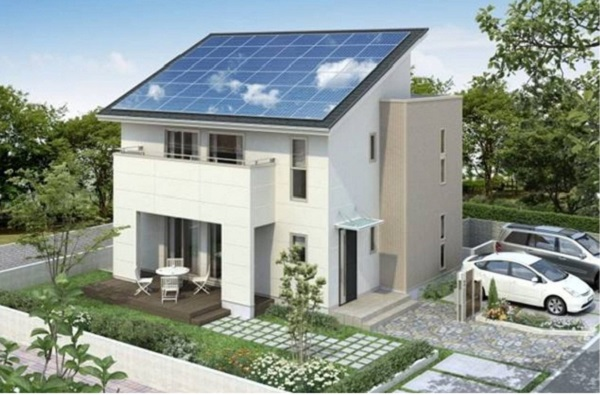 10KW Grid-Connected System on Pitched Villa Roof