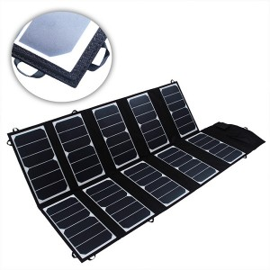 FR6-03-017 23% PV sunpower  solar folding Charging bag  65W