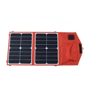 FR6-03-012 23% PV sunpower  solar folding Charging bag  30W