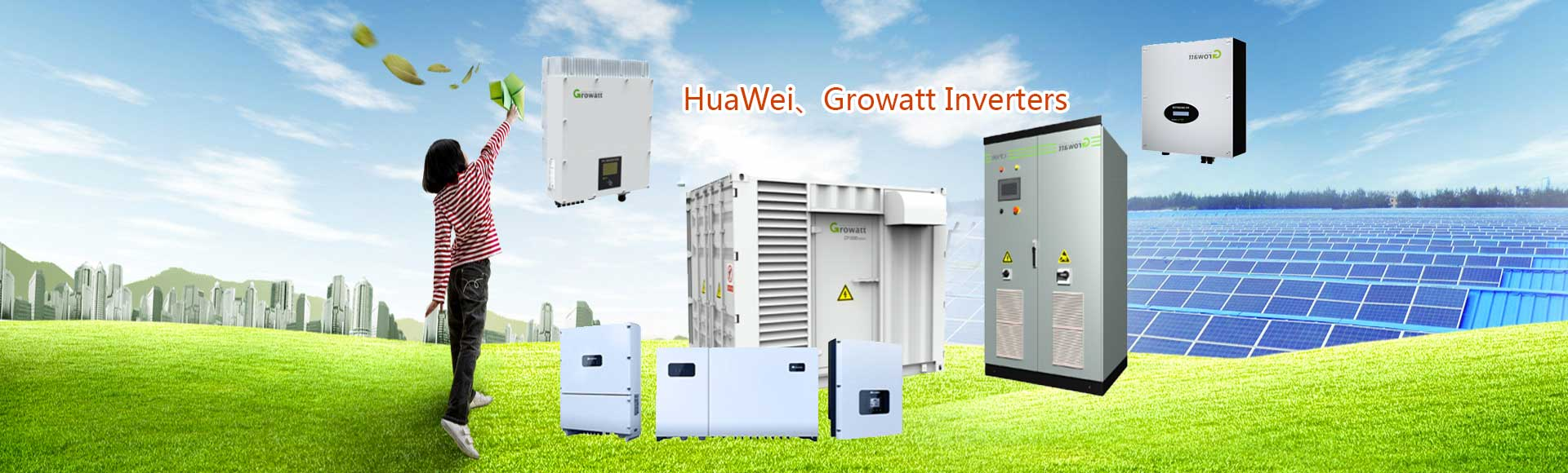 HuaWei,Growatt Inverters
